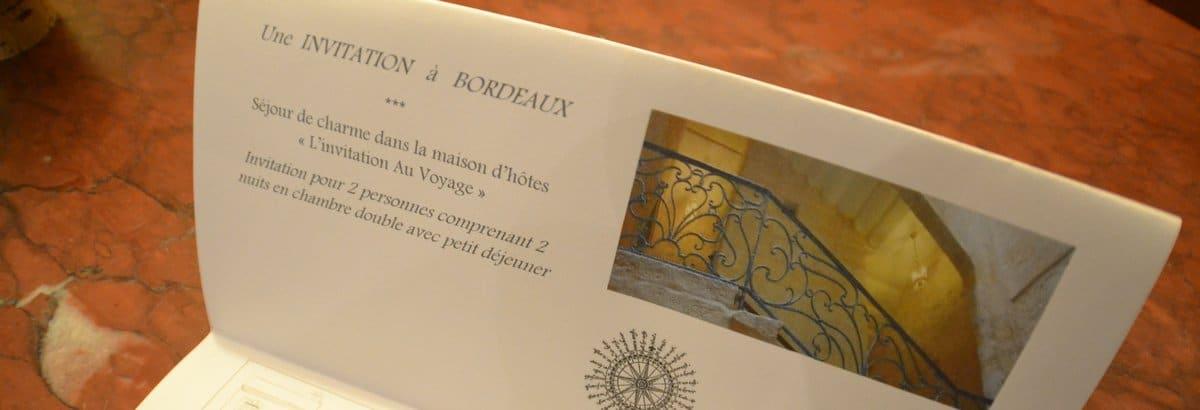 Des idées cadeau Bordeaux centre pour toutes les occasions : fête des mères, anniversaire, mariage ou juste une escapade urbaine