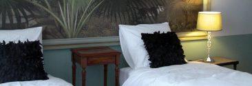 La chambre d'hôte Saint Domingue en lits twins