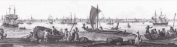 Chambre d hote au thème du port de Bordeaux