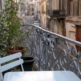 stilvolles Doppelzimmer Pension Bordeaux